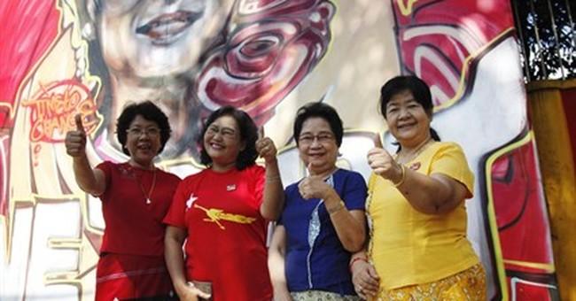 Suu Kyi's party wins historic majority in Myanmar polls
