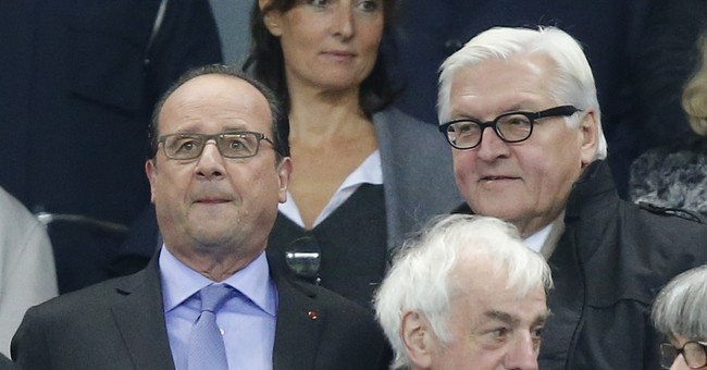 Fans stay calm amid chilling atmosphere at Stade de France