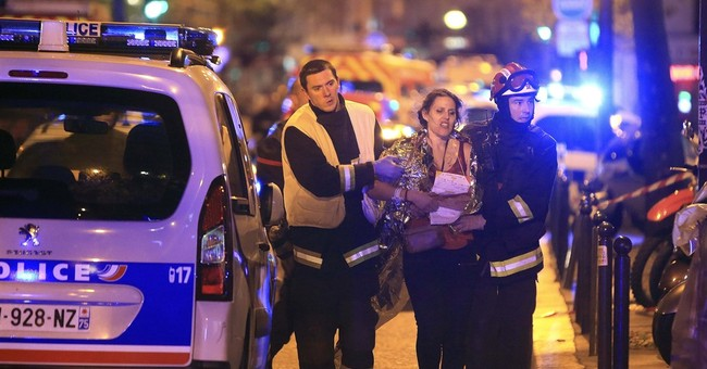 How a half-hour of horror washes Paris in blood; 129 dead