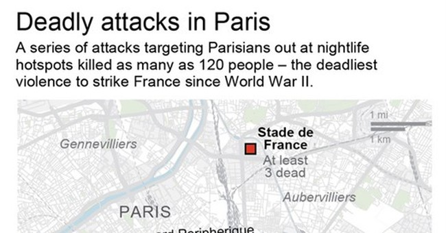 120 dead in Paris attacks, worst since WWII