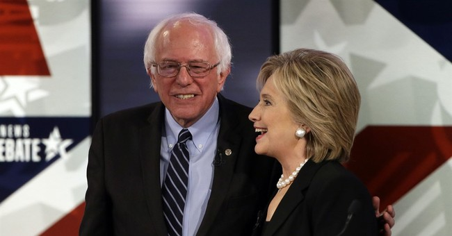 AP FACT CHECK: Clinton on donors, Sanders on wage inequality