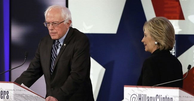 AP FACT CHECK: Sanders on 1 percent; Clinton on donors