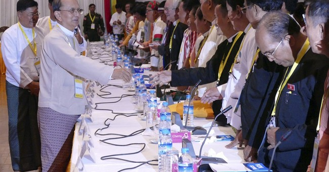 Myanmar president says transition of power will be smooth