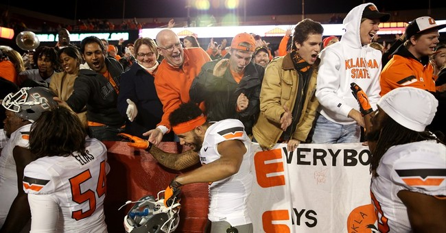 AP Top 25: Oklahoma State, Oklahoma move up rankings