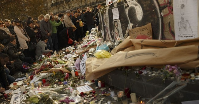 Paris unites in defiant solidarity, then scatters in panic