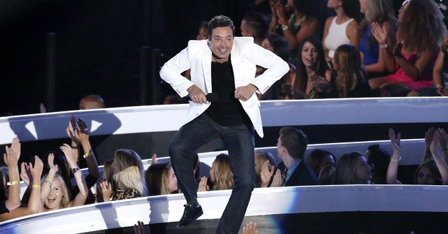 Fallon scores with lip-syncing, star power on 'Tonight Show'