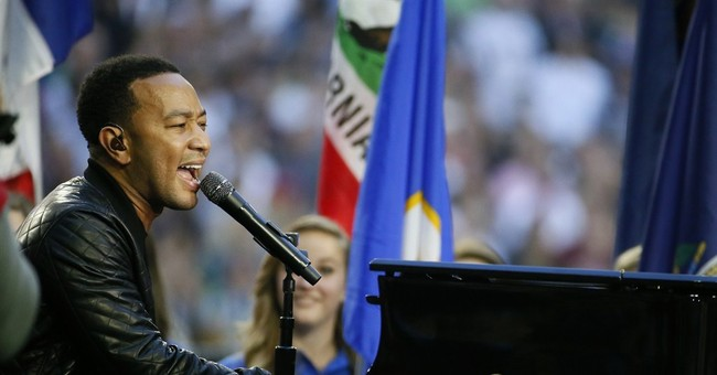 Idina Menzel, John Legend shine ahead of Super Bowl