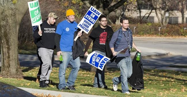 Hundreds of union members picket in strike at Kohler Co.