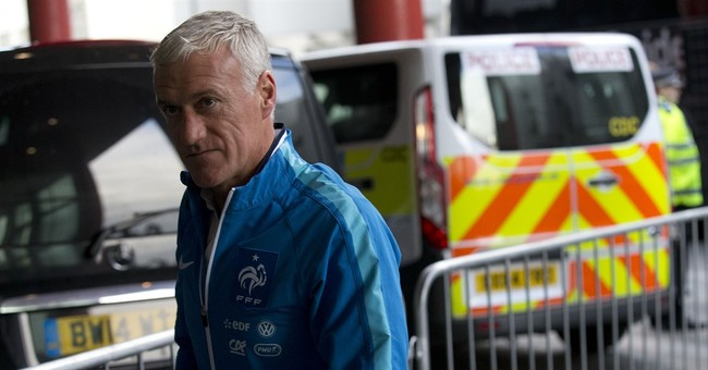 French national team to play England in act of defiance