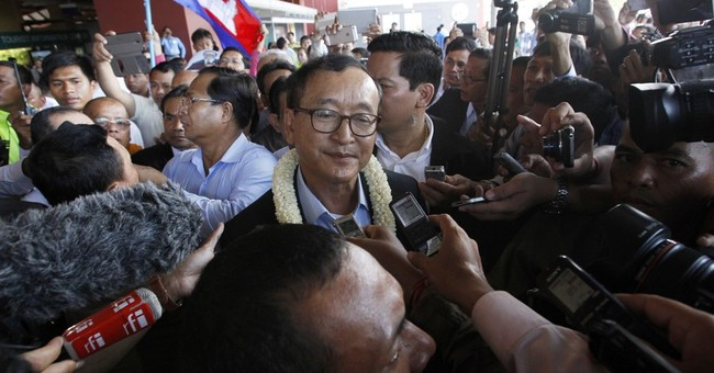 Cambodia poised to arrest opposition leader; violence feared