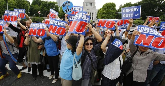 Tokyo sues Okinawa in US base relocation dispute