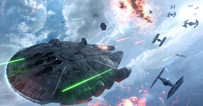 Worlds collide for creators of 'Star Wars: Battlefront' game