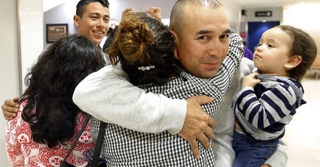 Salvadoran teens reunite with parents under US program
