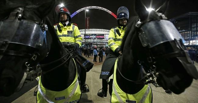 France, England soccer teams unite in defiance, respect