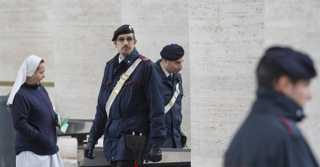 Pope's security detail nearly doubled; Italy bans drones