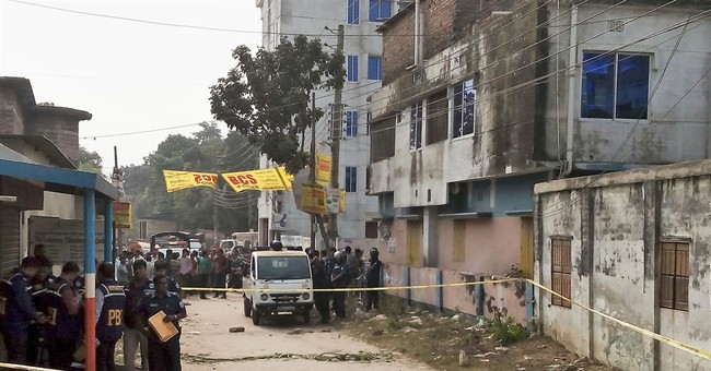 Correction: Bangladesh-Attack story