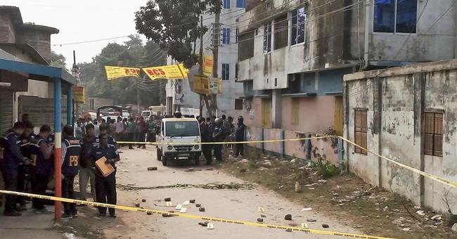 Correction: Bangladesh-Attack story