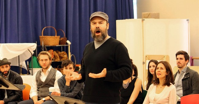 Humble Danny Burstein as Tevye: 'I'm as shocked as you are'