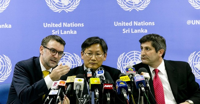 UN team identifies detention center at Sri Lankan navy base