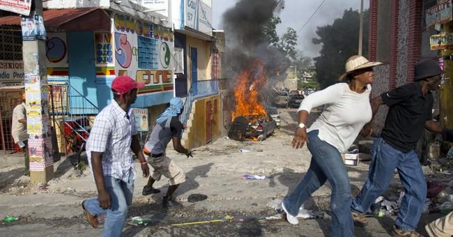 Protest against Haiti election turns violent; 1 dead