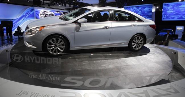 Hyundai recalls nearly 305K cars for brake light problem