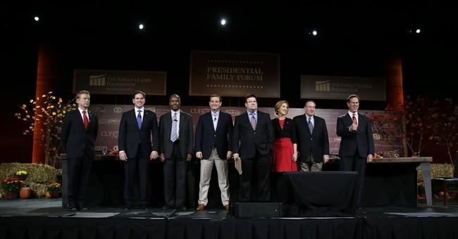 Republican candidates talk religion, security at Iowa forum
