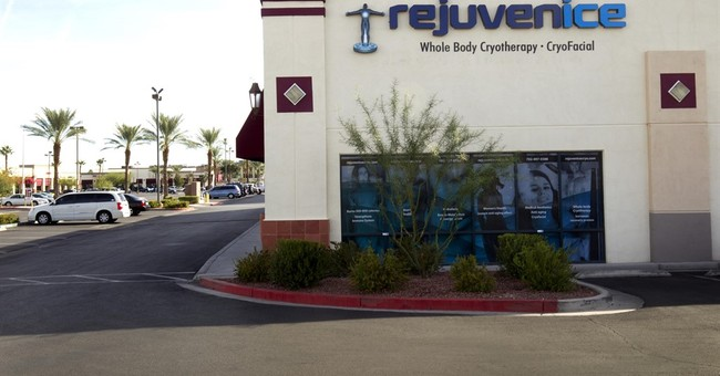APNewsBreak: Nevada issues health guidelines for cryotherapy