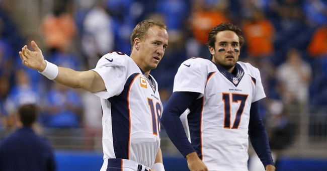 Manning will stay back in Denver to continue rehab