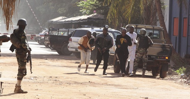 Gunmen attack hotel in Mali's capital, killing at least 20