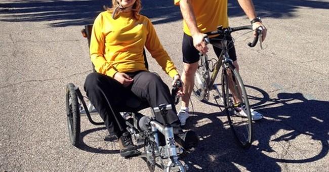 Former Rep. Giffords riding 40-mile bike tour in Arizona