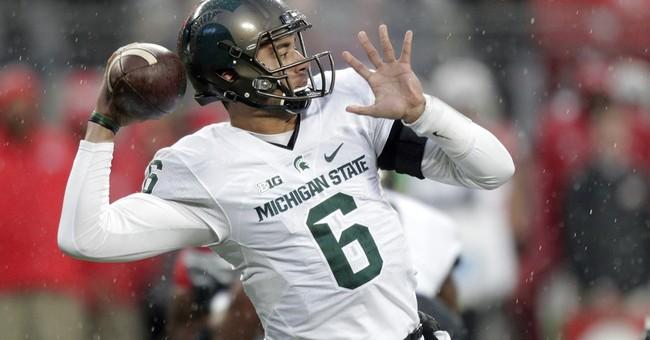No. 9 Michigan State beats No. 2 Ohio State 17-14 on late FG