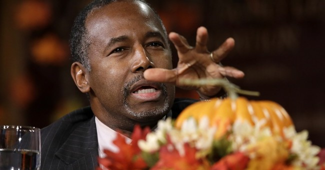 GOP's Carson says he has capacity to learn foreign policy
