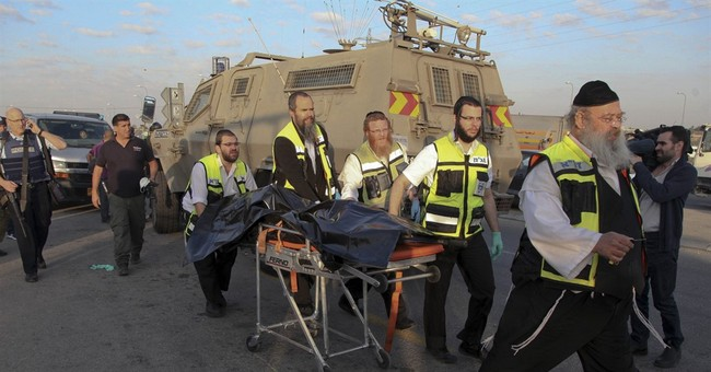Palestinian stabs Israeli woman to death, 3 attackers killed