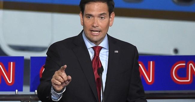 In first national TV ad, Rubio talks of terror threat