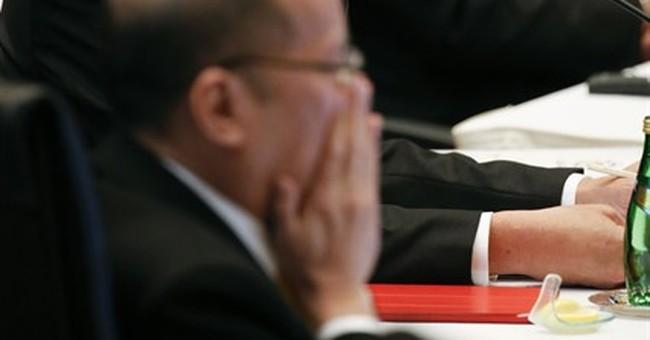 The Latest: China says it won't militarize South China Sea