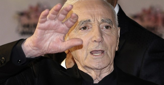 Ailing French singer Charles Aznavour cancels concerts