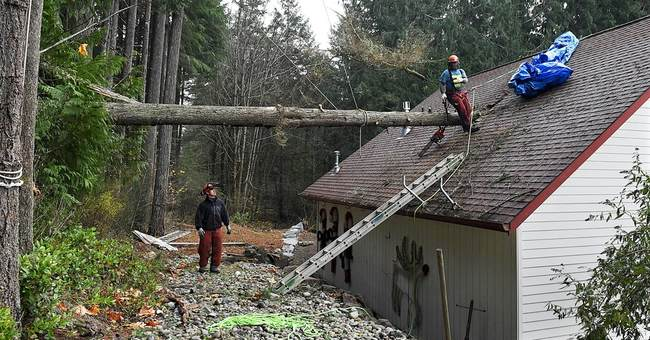 Tens of thousands in Washington state shiver without power