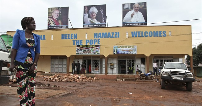 Uganda fundraises, spruces up shrine for pope visit