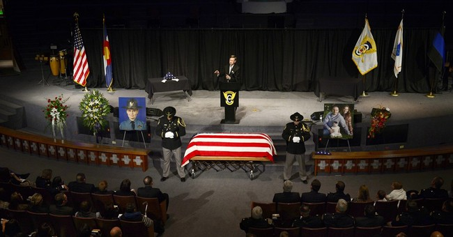 Funeral for Colorado trooper killed by suspected DUI driver
