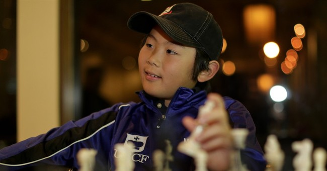 Youngest US chess master, 10: I've got to work on my endgame