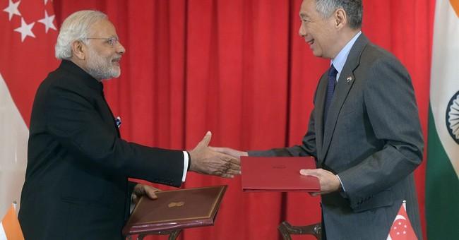 India's Modi stresses reforms in Singapore investment push