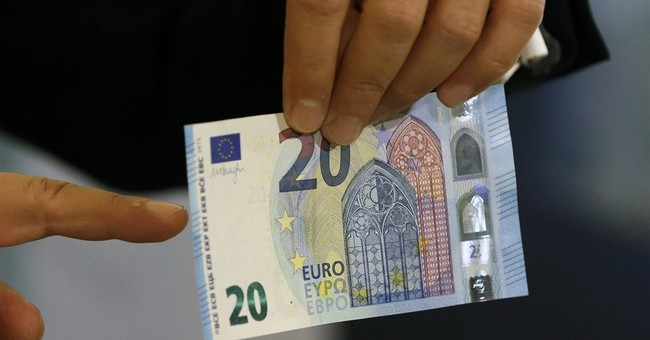 Europe introducing new 20 euro bill with enhanced security