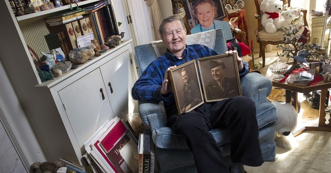 He jumped into Normandy, ran spies in Moscow, retired at 90