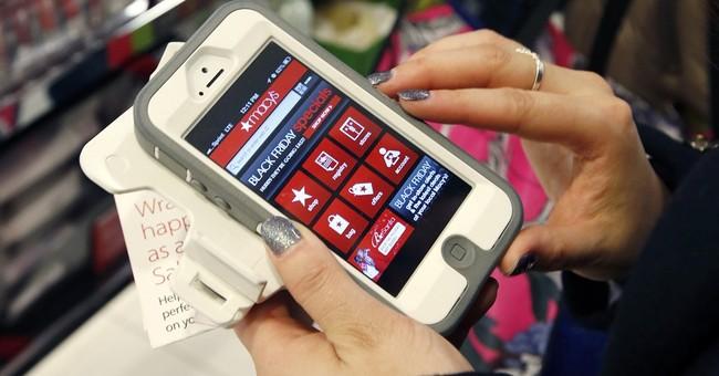 Smartphones overtake desktops for holiday shopping