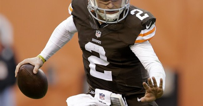 Browns quarterback Johnny Manziel enters treatment