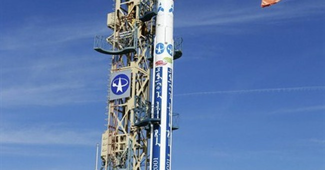 State television says Iran launches new satellite into space