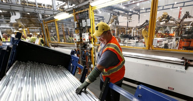 US factories grew last month at slowest pace in a year