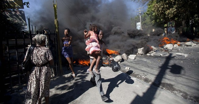 Haitian bus drivers strike over fuel prices, stranding many
