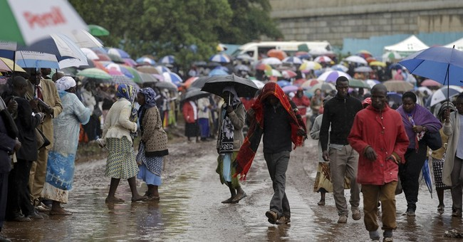 The Latest: Pope heads to Nairobi slum Friday