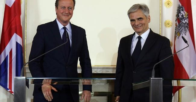 Cameron in Austria: Brits 'not happy' with EU status quo